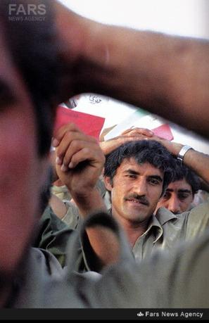 اسرای عراقی. عکاس: یعقوب راهواره