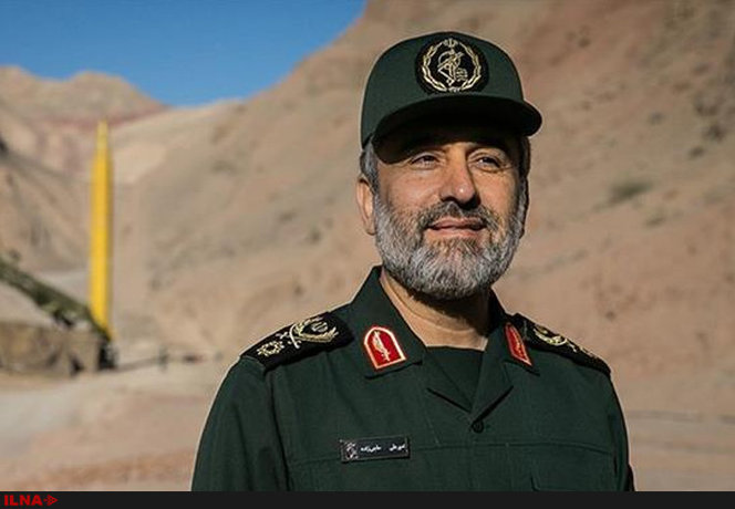 ۲. سردار حاجیزاده فرمانده نیروی هوافضای سپاه پاسداران