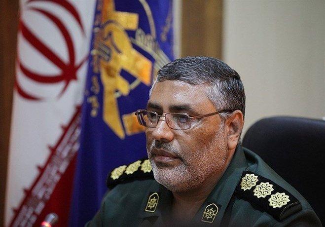 ۴. سردار عباس غلامشاهی فرمانده منطقه یکم نیروی دریایی سپاه