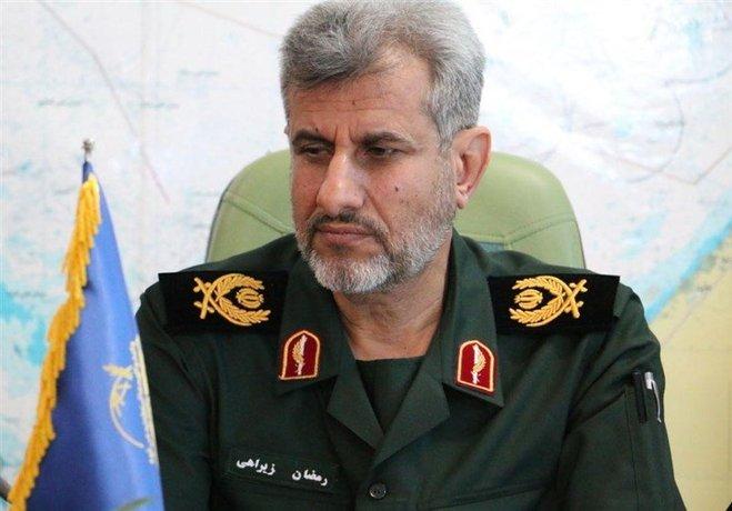 ۶. سردار رمضان زیراهی فرمانده منطقه دوم نیروی دریایی سپاه