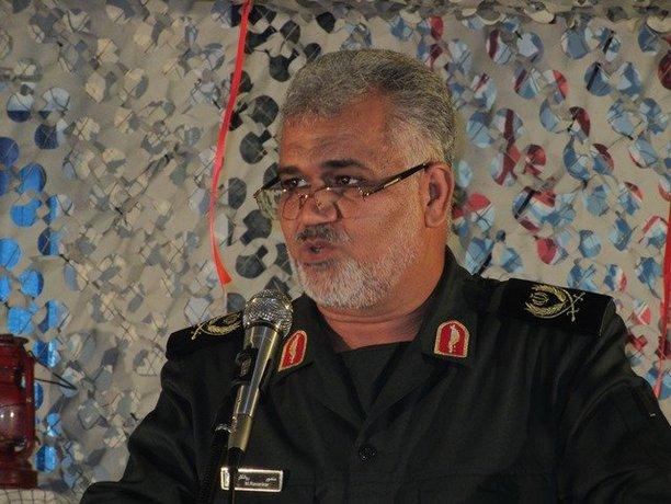 ۷. سردار منصور روانکار فرمانده منطقه چهارم نیروی دریایی سپاه