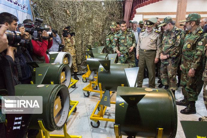 رونمایی از تجهیزات جدید ارتش