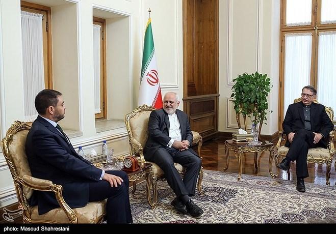 سفیرمکزیک در ایران در دیدار با محمد جواد ظریف وزیر امور خارجه ایران