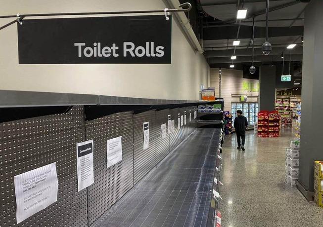 بحران دستمال توالت در آمریکا