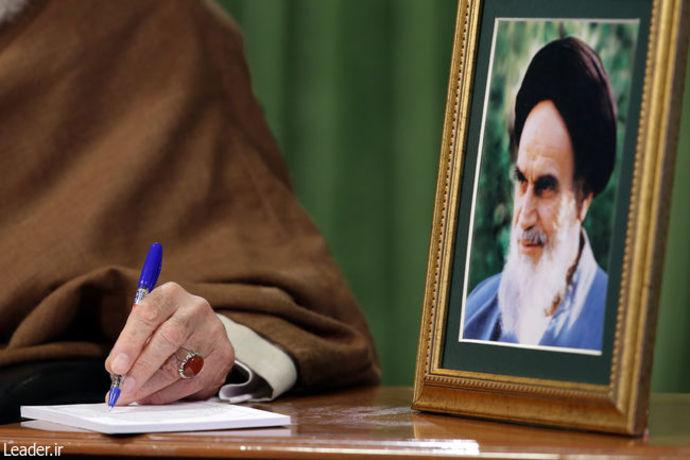 نشست نمایندگان تشکلهای دانشجویی با رهبر معظم انقلاب اسلامی